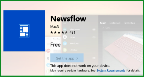 newsflow windows 10 download
