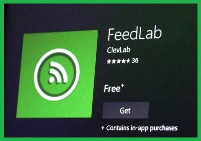 feedlab Free RSS Reader Apps windows 10
