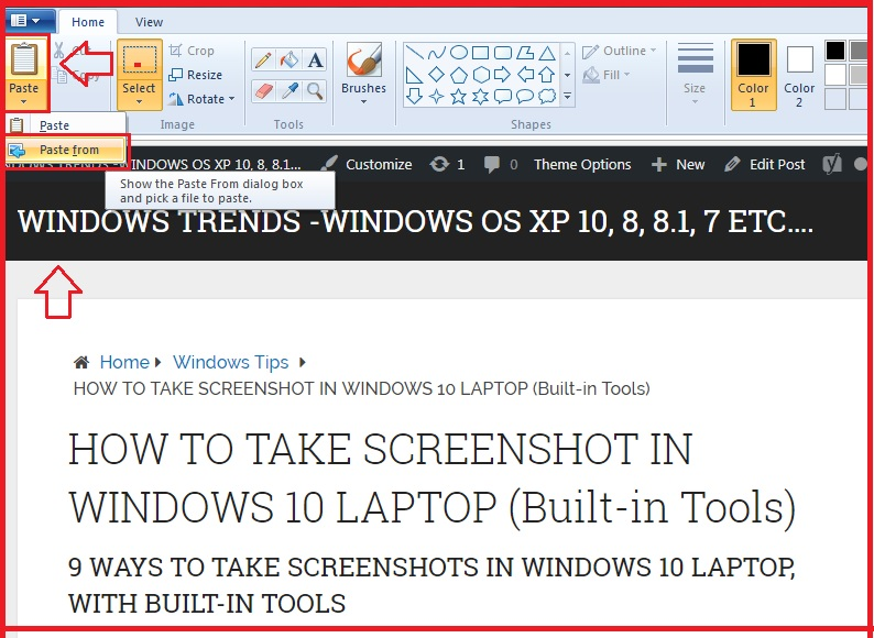HOW TO TAKE SCREENSHOT IN WINDOWS 10 LAPTOP (Built-in Tools