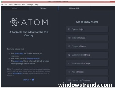 atom python editor